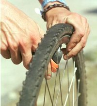 A flat bike tire is an interruption at best and a disaster at worst. Unless your tire is heavily damaged, replacing the tube is usually all you need ...