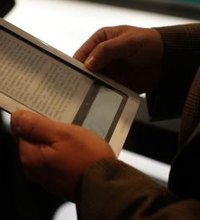Your Barnes & Noble Nook e-book reader features a touchscreen that enables you to