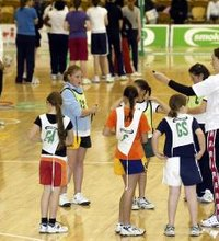 Netball games allow children to hone their skills without the pressure of competition. Simple games to play on the netball court are effective for ...