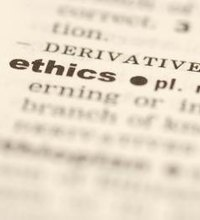 The ethical standards of an organization have a major influence on how it conducts its business. Business ethics are defined by the behavior ...