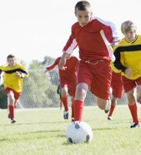 Shin kicks happen in soccer, and often. When players scramble for ball control, somebody is likely to sustain a possibly painful blow to the shin. ...
