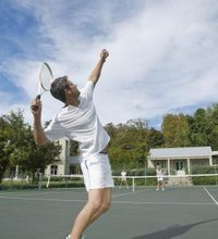 Tennis involves explosive bursts of movement, placing stress on the muscles and joints. Repeated reaching to serve or return the ball, twisting the ...
