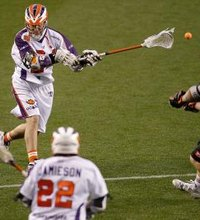 Lacrosse resembles sports such as soccer and hockey, with two teams that move up and down a field trying to propel an object into a net. In lacrosse, ...