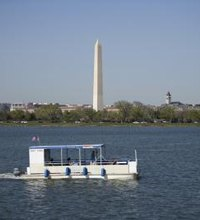 "The term ""Potomac"" is often used as a synonym for the nation's capital, and it does in fact flow through the District of Columbia, ..."