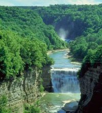 Spanning 14,350 acres in western New York, Letchworth State Park (nysparks.com)  is a long, narrow park that is roughly bisected from north to south ...