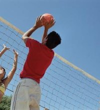 Double hits in volleyball are often judgement calls by the referees, as the action happens so fast it's hard to detect with certainty. The double hit ...