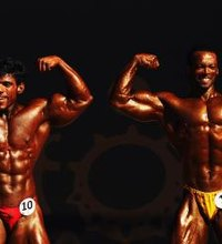 Bodybuilding isn't just about having big muscles. Contestants are judged on their symmetry and aesthetics too; part of this involves having a small ...