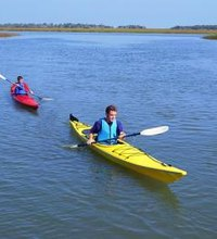 Kayaking is an excellent total-body exercise, requiring power from both the torso and legs to propel the kayak forward. Caloric expenditure in any ...