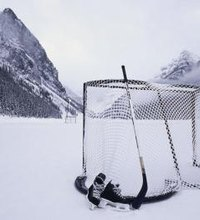From the backyard to frozen ponds, hockey remains a popular pastime. All hockey games require a hockey net, but official steel goals are too heavy ...