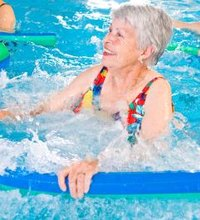 At most area aquatic centers, you will find a group of seniors walking, talking and swimming their way to fitness. Not only is the pool a social ...