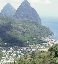 Travelers come to St. Lucia for a glimpse of the magical Pitons, the two, towering, volcanic peaks that rise out of the Caribbean sea off the ...
