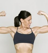 Many people add cardio exercise to their workout regimens to help them burn calories and lose fat. If you want to add toned arms to your workout ...