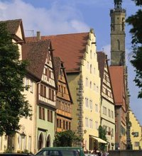 You can travel between Munich and Rothenburg, Germany, by car, train or bus. Four or five towns in Germany are named Rothenburg, so make sure you're ...