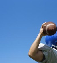 On many football teams, the quarterback's right -- or occasionally left -- arm is the primary offensive weapon. As the quarterback, it's your job to ...