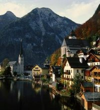 The charming little town of Hallstatt, Austria, sits on the shores of a wonderfully clear lake, surrounded by rugged mountains, and is full of ...