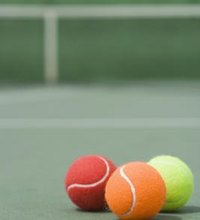 Tennis balls are fuzzy, lightweight objects that you can use for kid's games. They bounce and generally will only cause injury if purposely thrown ...