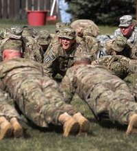 Pushups and situps are fundamental exercises that are part of many military workout routines and fitness tests. Pushups work muscles throughout your ...