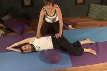learn restorative yoga poses video series  ehow