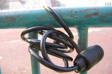 How to Reset a Bike Lock Combination