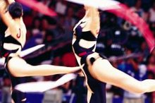 Steps in Ribbon Exercise in Gymnastics