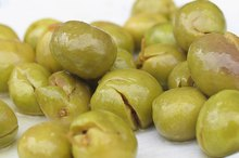 Nutrition Information on Olives