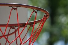 Homemade Basketball Pole