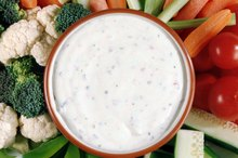 Nutrition Facts for Hidden Valley Ranch Dressing