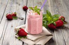 Homemade Strawberry Shakes for Weight Loss