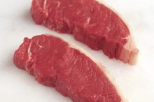The Nutrition in Boneless New York Strip Steaks