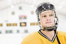 The History of Hockey Helmets