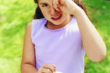 What Are the Causes of Children Seeing Black Spots?