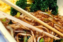 Chinese Food Nutrition Values