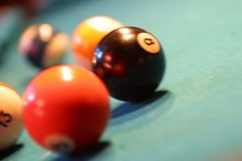 How to Use the Diamond on a Billiards Table