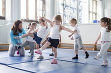 Zumba Exercises for Preschool Children