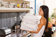 How Many Calories Do You Burn While Folding Laundry?