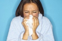 Causes of Coughing & Stuffy Nose After Eating