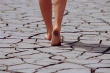 What Are the Causes of Sudden Dry Feet?
