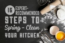 16 Expert-Recommended Steps to Spring-Clean Your Kitchen