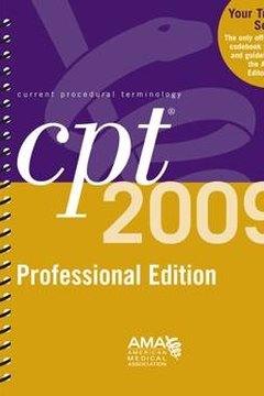 AMA CPT® 2009 Professional