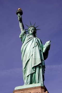 Who Was the Model for the Statue of Liberty?
