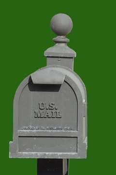 A non-aluminum mailbox is considered the safest protection method.