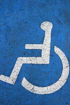 Handicap railings, the ADA.