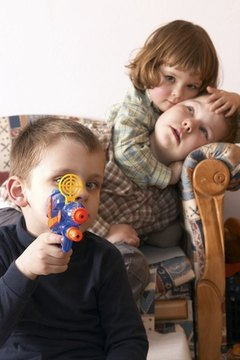 BB guns are banned for use by children and ex-criminals in some states.