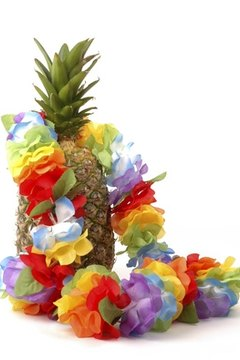 Create Hawaiian-themed crafts with your preschool students.