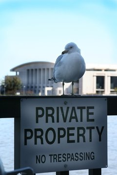 A right of entry agreement exists between property owners and jurisdictions.