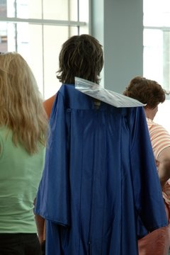 A cap and gown gives a student a chance to celebrate her accomplishments.