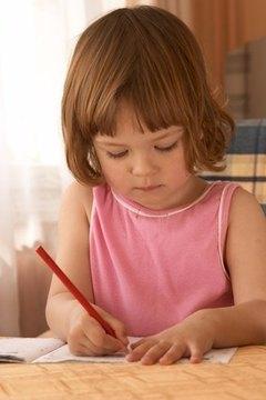 Create a portfolio of your professional preschool teaching.