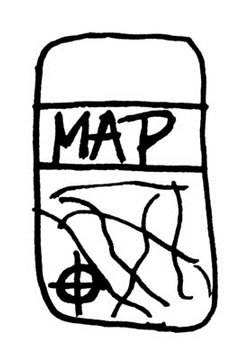 Student drawn maps help children understand how to read a map.