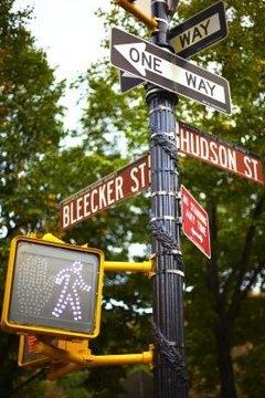 Bleecker Street is an example of a blended word.