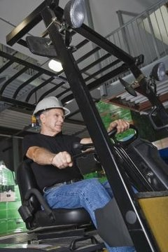 Forklift operation is essential to warehouse operations.